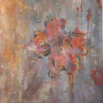 Rost II, 2011, Acryl,Papier/MP, 50 x 70 cm