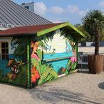 Graffitigetaltung Graffiti Poolbar