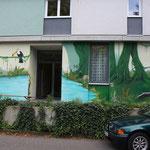 Dschungel-Motiv Freiburg Vauban