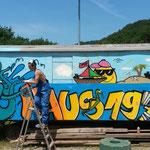 Graffitiworkshop Freiburg Haus197