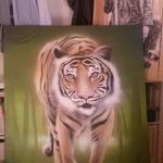 Tiger Leinwand
