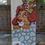 Zimmertür König der Löwen