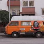 VW-Bus kleiner Maulwurf Freiburg