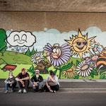 Graffitiworkshop Bundesgartenschau Lahr