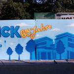 Graffitiprojekt zur 65 jahr Feier der Firma Sick Waldkirch