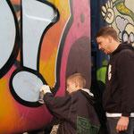 Graffiti Workshop Basel