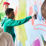 Graffiti workshop Angel Freiburg