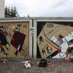 Garagentor Graffiti
