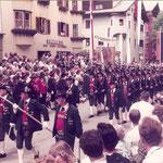 Kitzbühel 1984 - 3. Preis beim Salvenschießen