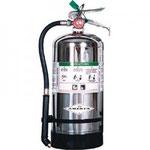 Extintor para fuego clase K (apaga fuegos de aceites y grasas para cocinar)