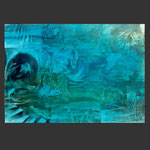 paisajes desde el submarino. estribor. acrílico sobre papel (100x70)