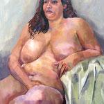 Marlène - Huiles sur toile - 65x54