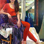 Zelda - Huile sur toile - 116x81
