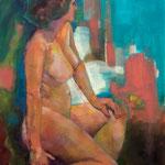 Marie-Eléonore - Huile sur toile - 55x46