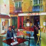 Shop suey - Huile sur toile - 100x80