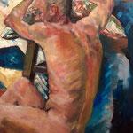 Pascal 1 - Huile sur toile - 65x54