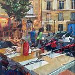 Chop Suey - Huile sur toile - 100x80