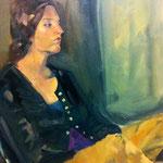 Camille - Huile sur toile - 65x54