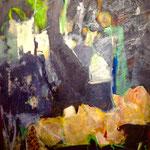 Reflet intérieur 2 - Acrylique sur toile - 116x81