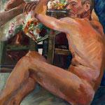 Pascal 2 - Huile sur toile - 65x54