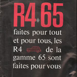 R4 Werbung aus 1965