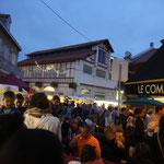 Marcher nocturne de Biarritz