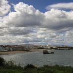 Biarritz, vue de la pointe du Phare