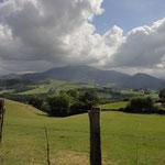 Paysages Basques aux alentours de la borde