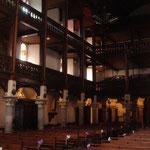 Intérieur Eglise d'Hasparren avec ses galeries