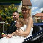Hochzeit von Silvia, Sven und Jenny Müller