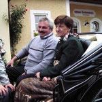 Kutschenfahrt mit Roswitha und Peter
