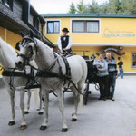Kutschenfahrt bei Hotel Glockenhof / Bärnbach
