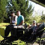 Kutschenfahrt mit Robert und Fam.