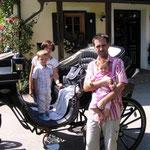 Buschenschankfahrt mit Rosemarie und Fam.
