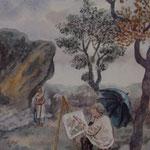 Corot à la forêt de Fontainebleau