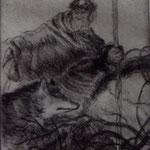les vieux loups-pointe sèche