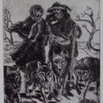 Hermeline et le meneur de loups