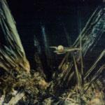 Exploration-huile sur carte-25x30-1974