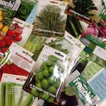 2014年1月 今年用の種。イタリア野菜も定番の野菜も沢山育てるぞー!