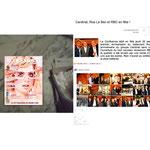 Lyon Magazine - Soirée ouverture nouveau showroom RBC Design Lyon + N. Le Bec + Grpe Cardinal & les architectes Jakob+MacFarlane, invitation officielle, parution photos (bas droit) presse.