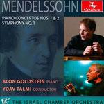 F. Mendelssohn - Piano Concertos 1&2, Symphony No. 1, Yoav Talmi, The Israel Chamber Orchestra (2013)