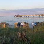 Abendstimmung an der Seebrücke