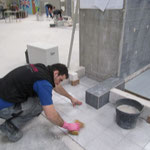 Arbeiten am Objekt