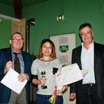 Le Président Brillard, Aurélie Micallef et Marc Jourdan