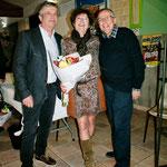 Marc Jourdan, Françoise Brillard, et Jean Louis Clarr.
