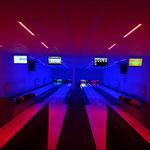 Wechsellicht im Bowling - Zentrum Großschweidnitz