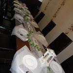 Ambiente der Hochzeitsfeier