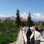 Метеора,у монастыря Св.Стефана
