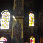 фрески и витражи Собора Св.Григория Паламы