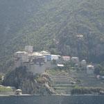 Св.Гора Афон_монастырь Дионисиат
